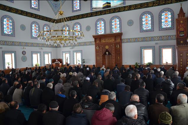Nevşehir'de Il Müftüsü öztürk Kuba Camii'nde Incelemelerde Bulundu
