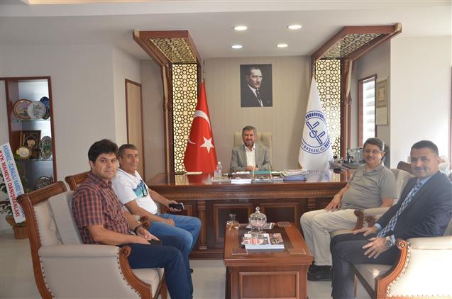 Antalya'da Il Milli Eğitim Müdürü Il Müftülüğümüzü Ziyaret Etti