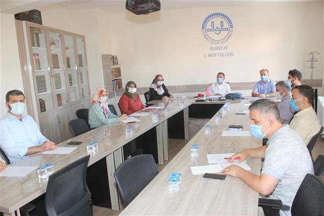 Rize'de Il Irşad Kurulu Toplantısı Yapıldı