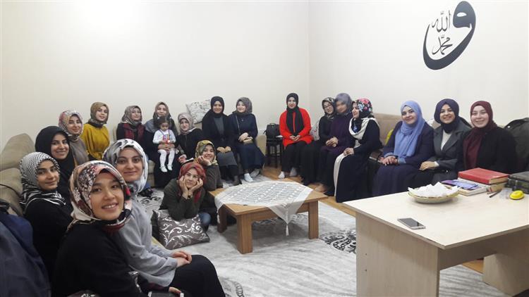 Igdir'da Ilahiyat Fakültesi öğrencileri Aile Ve Dini Rehberlik Bürosunu Ziyaret Etti.