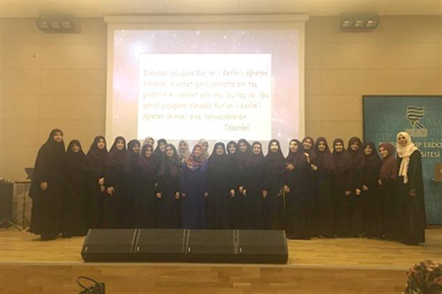 Rize'de Ilahiyat Fakültesi'nde Hafızlık Tanıtım Programı