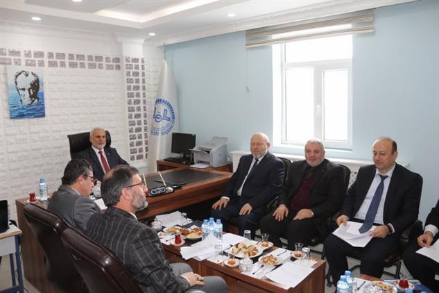 Agri'da Ilçe Müftüleri Toplantısı Icra Edildi
