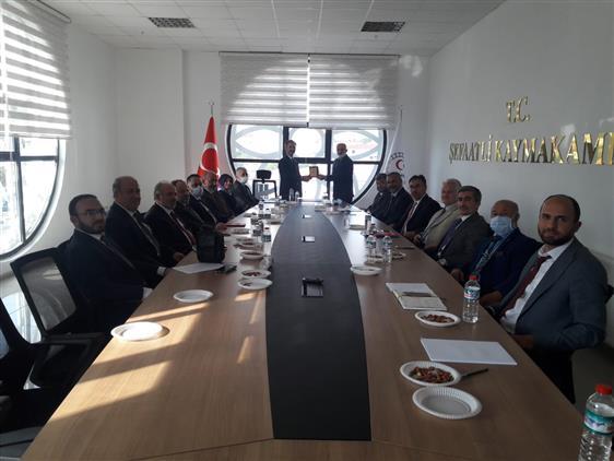Yozgat'de Ilçe Müftüleri Toplantısı şefaatli Ilçesinde Yapıldı