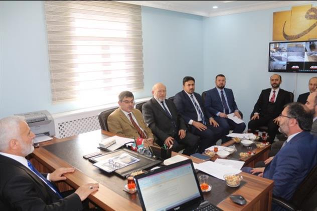 Agri'da Ilçe Müftüleri Toplantısı Gerçekleştirildi