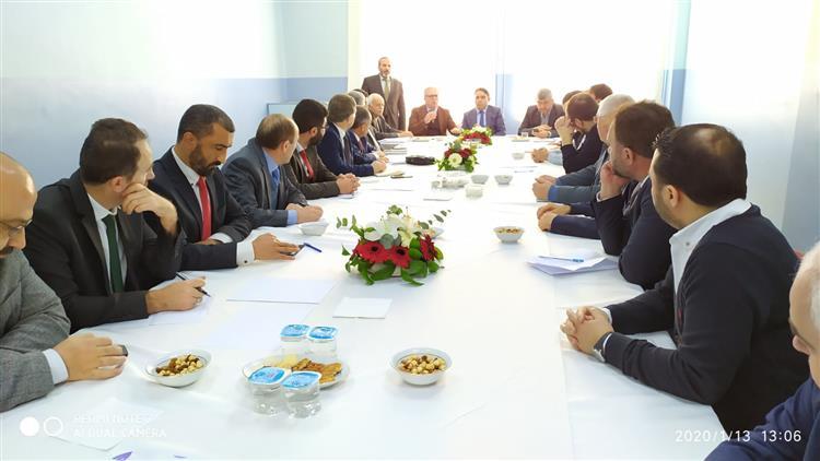 Afyonkarahisar'da Ilçe Müftüleri Toplantısı şuhut'ta Yapıldı