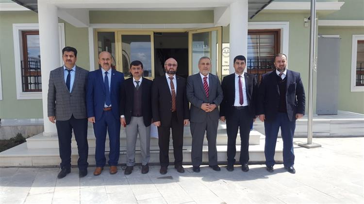 Erzincan'da Ilçe Müftüleri Nisan Ayı Mutat Toplantısı Iliç Ilçesinde Yapıldı