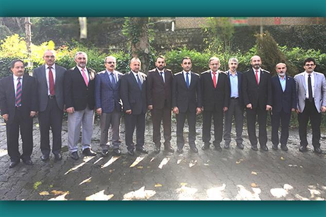 Rize'de Ilçe Müftüleri Toplantısı Ardeşen'de Yapıldı