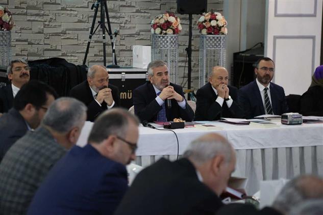 İstanbul'da Ilçe Müftüleri Toplantısı Bahçelievler'de Yapıldı