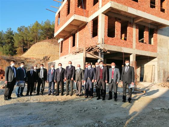 Sinop'ta Ilçe Müftüleri Toplantısı Boyabat'ta Yapıldı