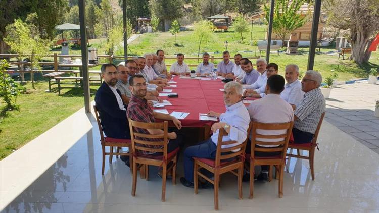 Antalya'da Ilçe Müftüleri Toplantısı Kaş Ilçesinde Yapıldı