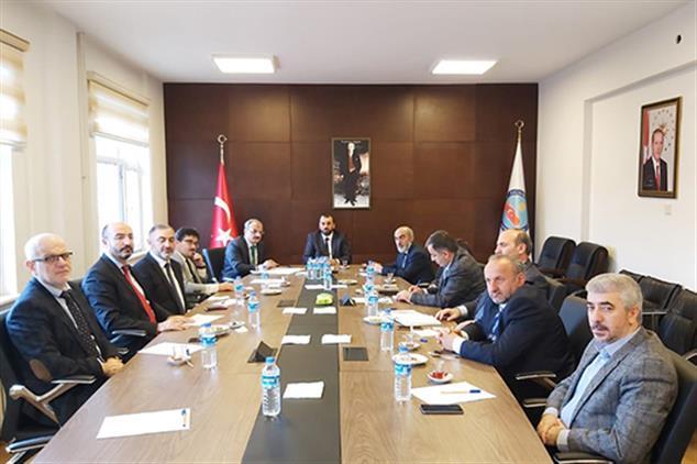 Rize'de Ilçe Müftüleri Toplantısı Kalkandere'de Yapıldı...