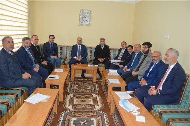 Ardahan'da Ilçe Müftüleri Toplantısı Ilimizde Yapıldı.