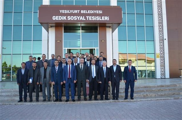 Malatya'da Ilçe Müftüleri Toplantısı Yeşilyurt'ta Yapıldı