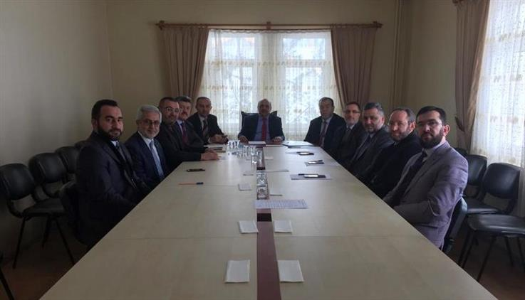 Bolu'da Ilçe Müftüleri şubat Ayı Toplantısı Dörtdivanda Yapıldı