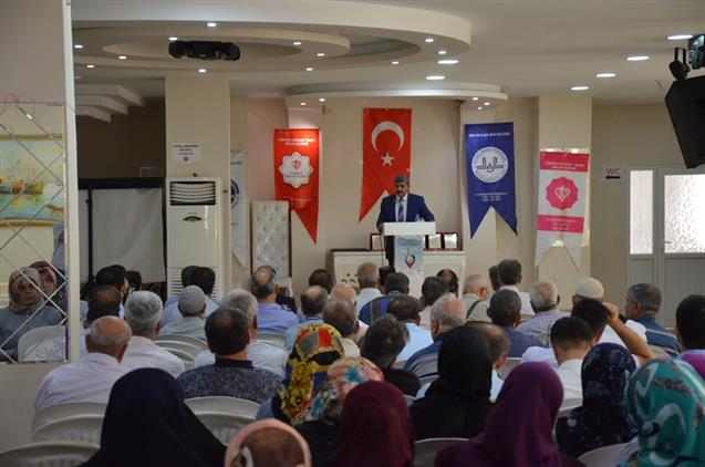 """Hatay'da Ilçe Müftülüklerimizce """"cami Ve Hayat"""" Konulu Konferans Düzenlendi"""