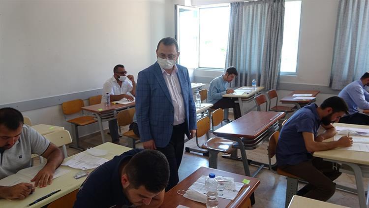 Mersin'de Ilimizde Ihtisas Kursuna Kursiyer Seçimi Yazılı Sınavı Yapıldı