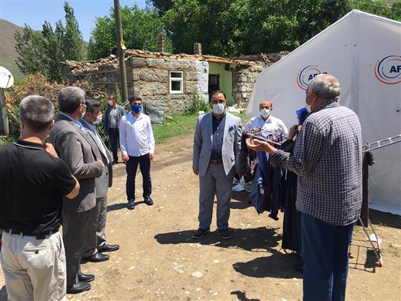 Bingol'de Ilimiz Müftülüğünce Karlıova Ve Yedisu Ilçesinde Ikamet Eden Depremzede Vatandaşlarımıza Yönelik Yapılan Faaliyetler