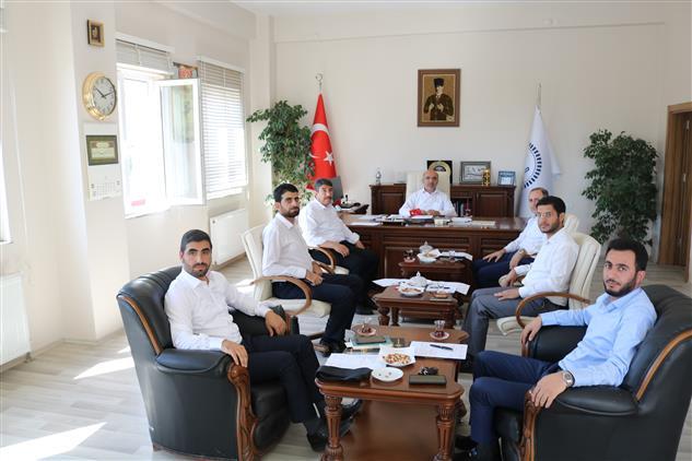 Muş'ta Lütfü Imamoğlu Başkanlığında Ilçe Müftüleri Ile Aylık Toplantı Düzenlendi.