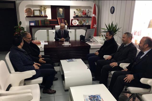 Şanlıurfa'da Imam Hatipler Platformundan Il Müftüsü Taştan' A Ziyaret