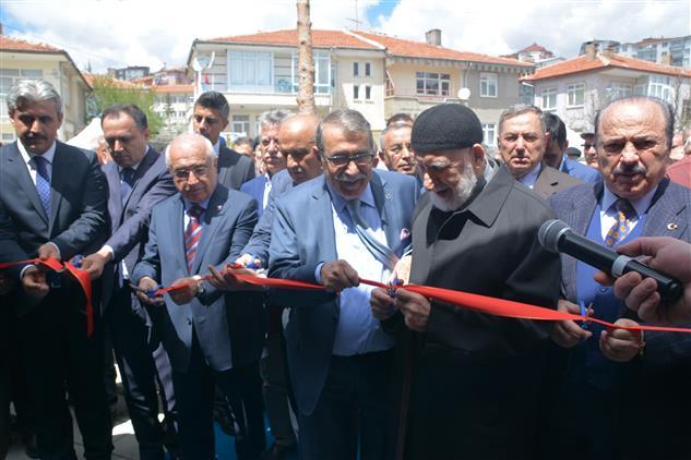 Yozgat'de Imam-ı Azam Camii Dualarla Ibadete Açıldı