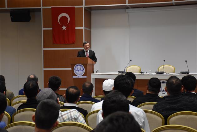 Manisa şehzadeler Kaymakamı Cemal Hüsnü çaykara'nın Eğitim Merkezini Ziyareti Ve Kursiyerlere Konferans
