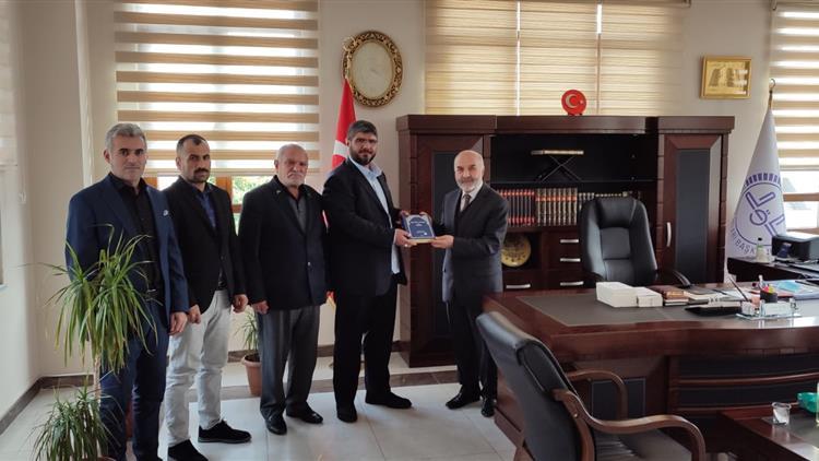 Tekirdağ'da Marmaraereğlisi Hz. Hamza Camii Derneği üyelerinin Ziyareti