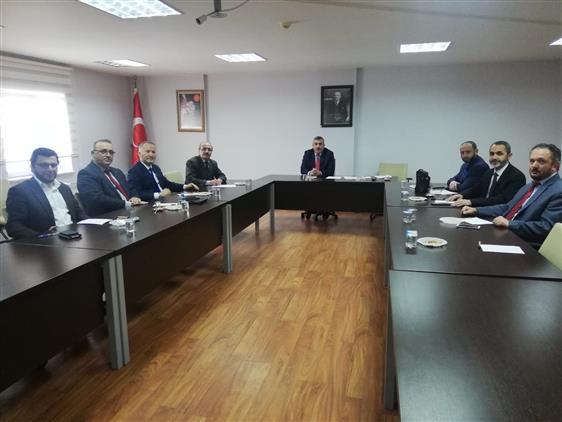 Duzce'de Mart Ayı Ilçe Müftüleri Toplantısı Gümüşova Ilçesinde Yapıldı.