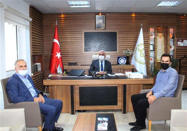 Bilecik'de Meb Müşaviri Mustafa Altınsoy Ve Dr.öğr.üyesi Abdulkadir Altınsoy'dan Müftü Ali Erhun'a Ziyaret