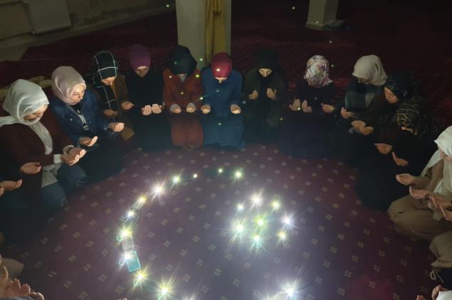 Giresun'da Mehmetçik Için Dua