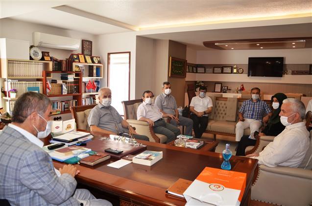 Antalya'da Merkez Ilçe Müftüleri Toplantısı Yapıldı