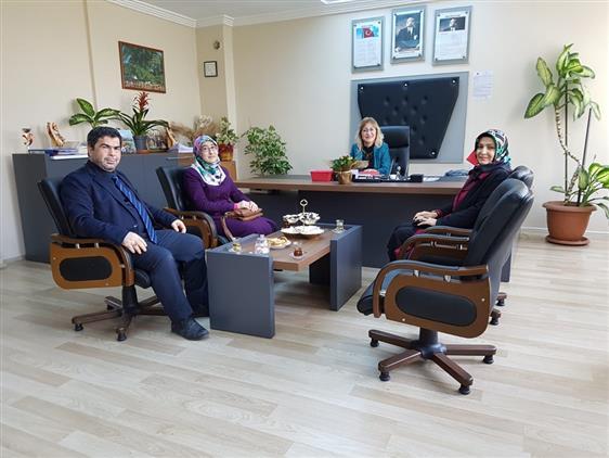 Aydin'da Mesleki Eğitim Merkezine Ziyaret