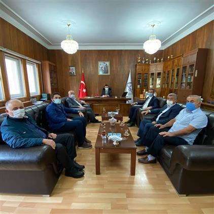 Amasya'da Mevlid-i Nebi Haftası Dolayısıyla Il Müftümüze Ziyaret