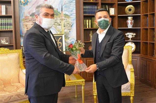 Nevşehir'de Mevlid-i Nebi Haftası Dolayısıyla Il Müftüsü Altunkaya'dan Başkan Arı'ya Ziyaret...