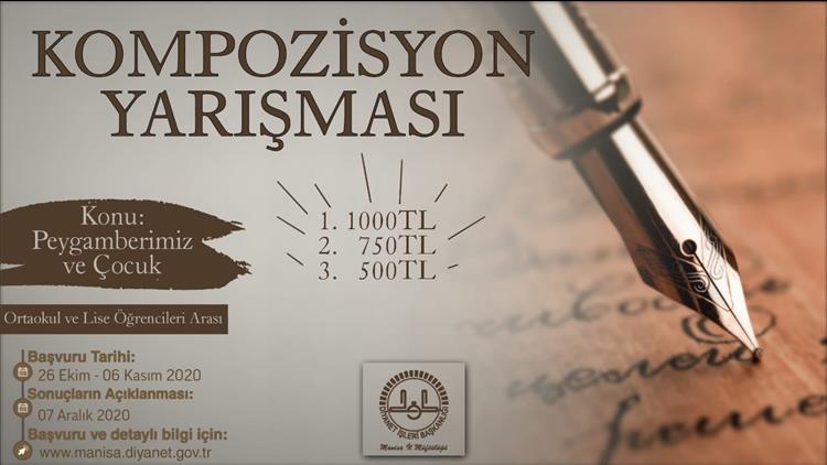 Ardahan'da Mevlid-i Nebi Haftası Kompozisyon Yarışması