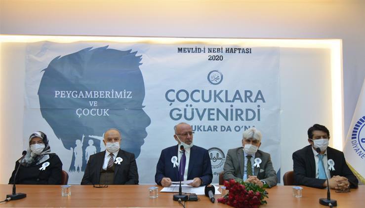 Konya'da Mevlid-i Nebi Haftası Münasebetiyle Basın Toplantısı Düzenlendi
