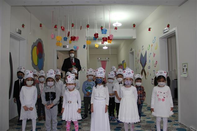 Karaman'da Mevlid-i Nebi Haftasında 4-6 Yaş Kur'an Kursu öğrencilerimize Oyuncak Hediye Edildi.