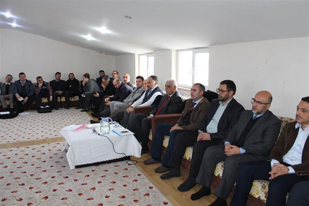 Bilecik'de Müftü Akkuş'un Başkanlığında Son Personel Toplantısı Yapıldı