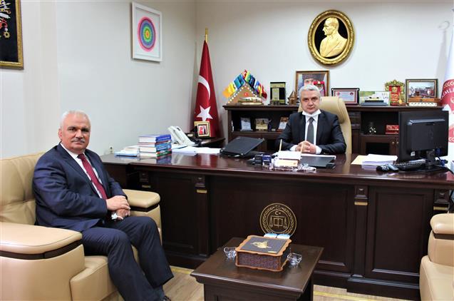 Bilecik'de Müftü Ali Erhun'dan Başsavcı Ceylan'a Ziyaret