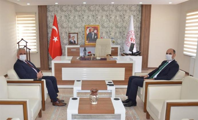 Bilecik'de Müftü Ali Erhun'dan Gençlik Ve Spor Il Müdürü Yasin öztürk'e Iade-i Ziyaret