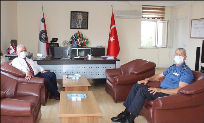 Bilecik'de Müftü Ali Erhun'dan Pomem Müdürü Suat Günbey'e Iade-i Ziyaret