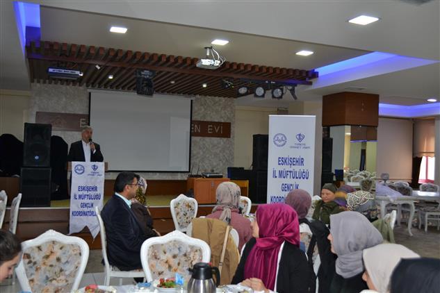 Müftü Gerek, Eskişehir Teknik üniversitesi öğrencileriyle Buluştu