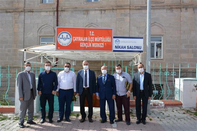 Yozgat'de Müftü Sezik Din Gönüllüleriyle Piknik Yaptı.