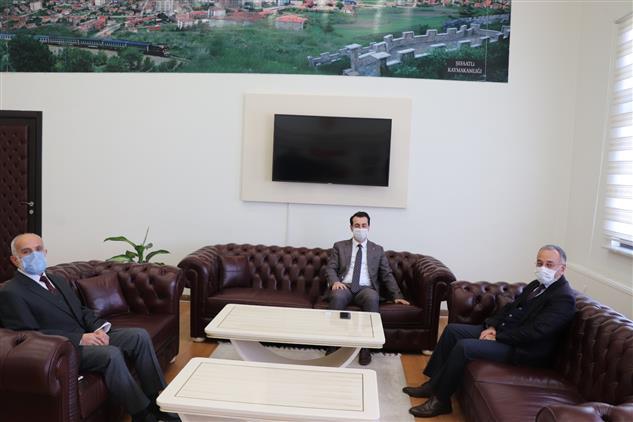 Yozgat'de Müftü Sezik'in Ilçe Ziyaretleri Devam Ediyor