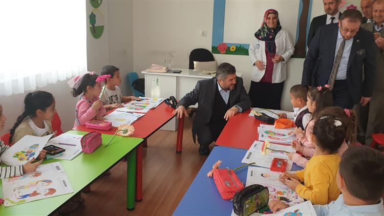 Antalya'da Müftülerimizden Habipler Kız Kur'an Kursuna Ziyaret
