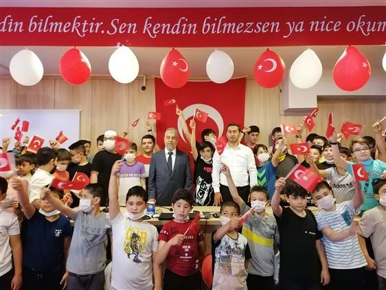 Eskisehir'de Müftülüklerde Yaz Kuran Kurslarında 15 Temmuz Ruhu Milli Birlik Etkinlikleri