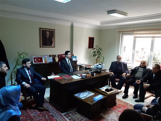 Müftülüğümüz Ve Bartın üniversitesi Islami Ilimler Fakültesi Birlikteliği Ile Istişare Toplantısı Yapıldı.
