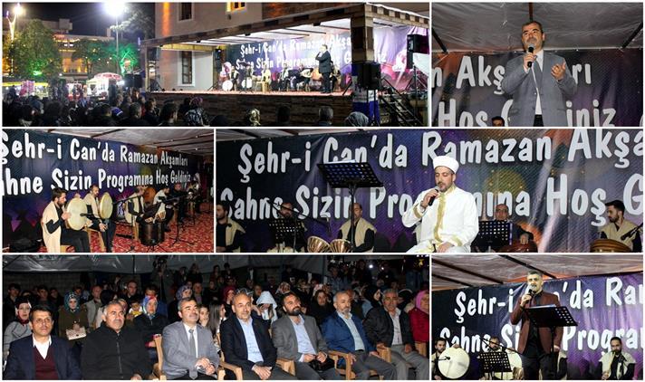 """Erzincan'da Müftülüğümüzce Düzenlenen """"şehr-i Can'da Ramazan Akşamları"""" Programı Yapıldı..."""