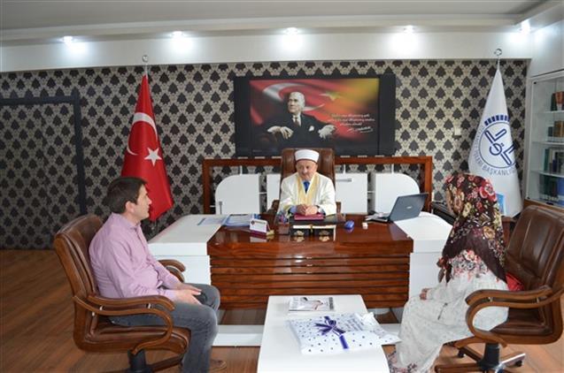 Malatya'da Müftülüğümüzde Ihtida Merasimi Düzenlendi