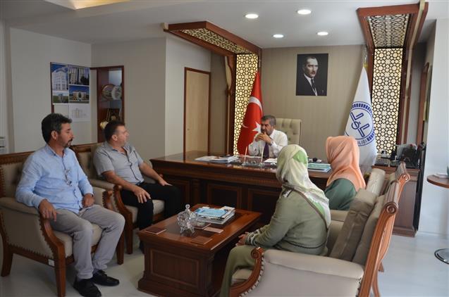 Antalya'da Müftülüğümüzde Personelle Bayramlaşma Yapıldı