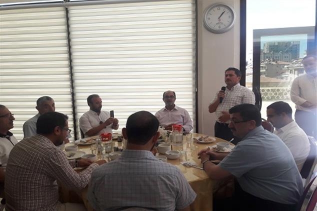 Gaziantep'de Müftülüğümüzde Veda Programı